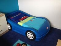 Little Tikes Racing Car Bed - suitable for children 2 - 5 years old