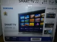 SAMSUNG SMART TV 22 INCH HDMI FULL HD