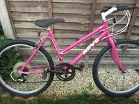 "LEW-WAYS LTD CYCLES 'RAVE' GIRLS SMALL LADIES 24"" MOUNTAIN BIKE"