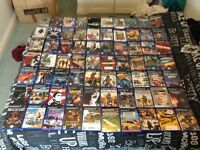 Ps2 2 controllers, memory card and a selection of 100+ games