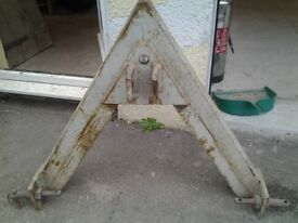 Tractor Quick Hitch A Frame Male 3 point linkage pick up