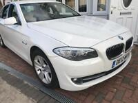 White BMW 520 For sale