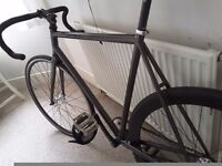 56cm brother swift fixed gear fixie track bike