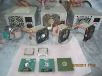 5x PC processors and 3x PC power supplys