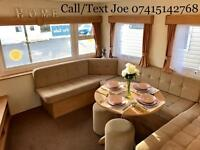 Cheap static caravans for sale Skegness central heated double glazed east coast