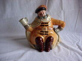 Royal Doulton FALSTAFF Character Teapot- D6854