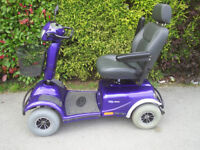 Invacare Meteor mobility scooter, will take 31.5 stone / 200 kg, 8 MPH . good condition
