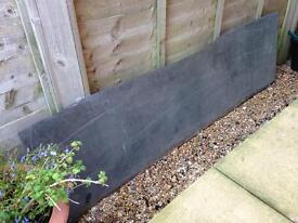 Grey/black slate slab