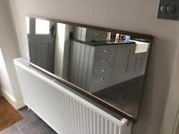 Large Vintage Schreiber Mirror