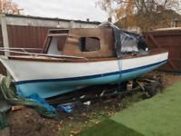 16' sea going boat project/offers/need gone ASAP
