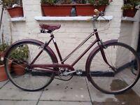 Vintage Royal Albert 3 speed bike