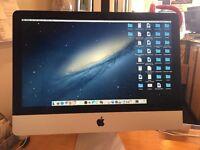 Apple iMac 21.5 late 2012 intel core i5 quad, 8GB Ram, 1 TB hard drive, Microsoft office, thin model
