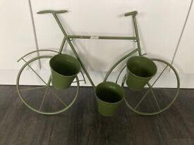 Bike planter for garden
