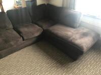 Corner sofa plus matching chair