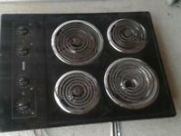 stovetop for sale black