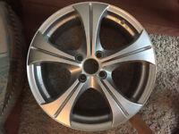 """BRAND NEW 5 spoke Alloy wheels 17"""" inch alloys wheel wolfrace 4x108"""