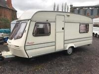 1991 lunar moonlight 4 5 berth with awning vgc caravan