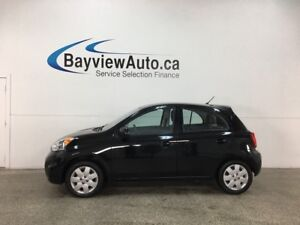 2017 Nissan Micra SV - ONLY 6000KMS! BLUETOOTH! A/C! CRUISE!...