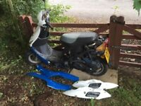 Direct Bikes 50cc Scooter in need of a little TLC