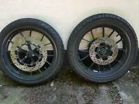 Yamaha R125 Wheels