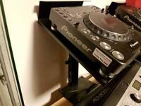 CDJ1000mk3 with stands