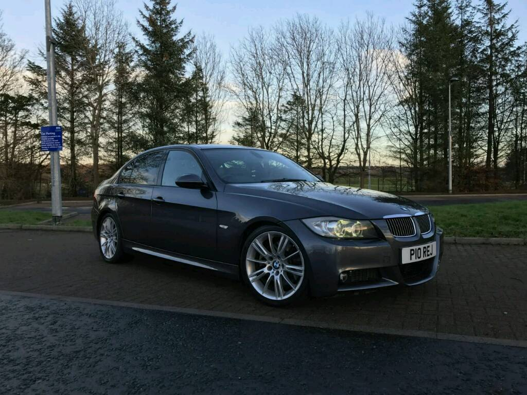bmw e90 330d m sport saloon grey idrive sat nav xenons. Black Bedroom Furniture Sets. Home Design Ideas