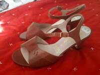 Brand new real Italian leather shoes size 4.5