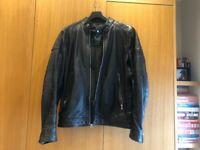 BRAND NEW Diesel Black Leather Jacket