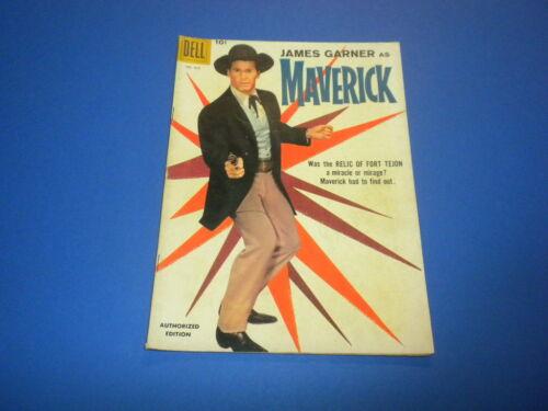 MAVERICK #930 - Dell Four Color Comics - TV WESTERN 1958 - JAMES GARNER