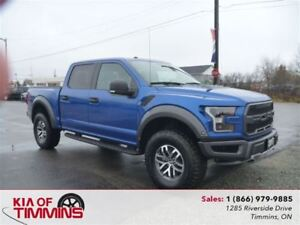 2017 Ford F-150 Raptor Panoramic Sunroof Navigation