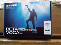 Shure Beta 87A Wireless system