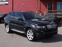 2005 BMW X5 4.8IS AWD/NAVIGATION/LEATHER/PANO-ROOF