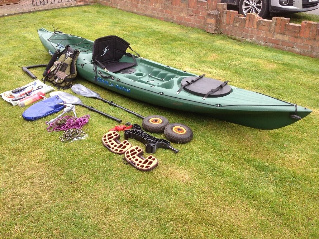 Ocean kayak prowler 13 angler in chester cheshire for 13 fishing a3