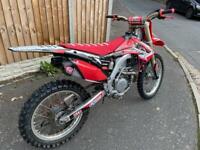 Honda CRF 450 Not 250, Kxf, Yzf, Sxf