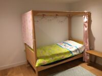 Child's Single Four Poster Bed by MADE