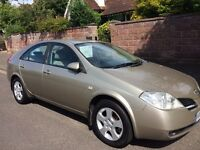 2002 NISSAN PRIMERA 1.8 DRIVES WELL 93K