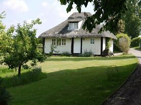 Rural thatched cottage for rent outside Colne Engaine