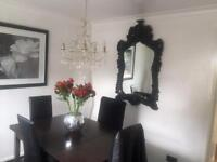 Ilva Dining Room Table Plus 6 Chairs 4 Very Good Condition