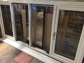 Large Double Glazed Window Frame