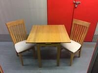 Extendable small table and chairs, Free delivery