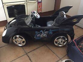 Virtually New batman car