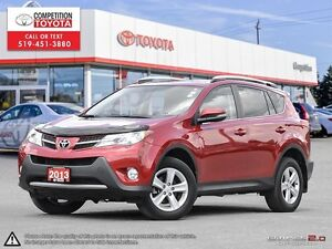 2013 Toyota RAV4 XLE One Owner, No Accidents, Toyota Serviced