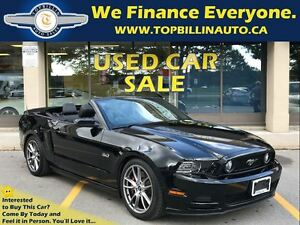 2014 Ford Mustang GT 6 Speed, Navigation, Brembo Pkg 24K Kms