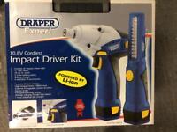 Draper expert impact driver, drill and light.