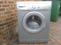 Silver Beko washing machine