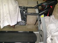 Roger Black electronic Treadmill with incline facility and safety button - fully working