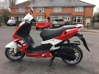62 Plate Peugeot Speedfight 50CC Moped With MOT