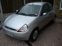 Ford Ka 1.3 Collection 2006 Metallic Silver 62k miles very clean car