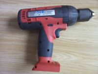 New Snap on 18v CDREU8850H Drill body and charger for sale.