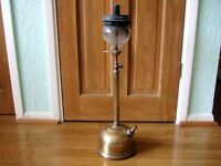 Antique brass tilley lamp